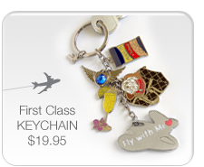 First Class Keychain